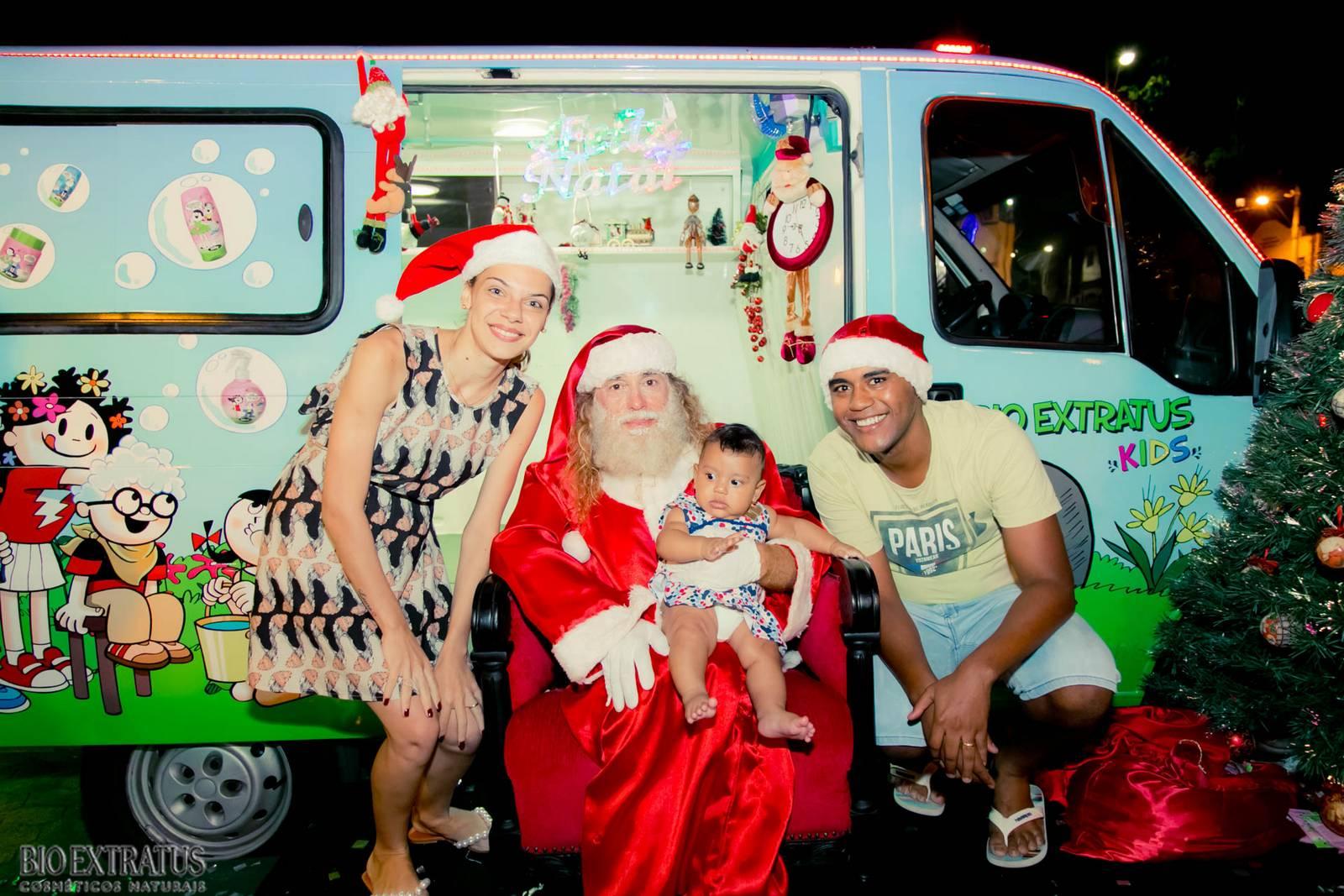 Papai Noel na Praça São Sebastião - 2015 - Alvinópolis (206)