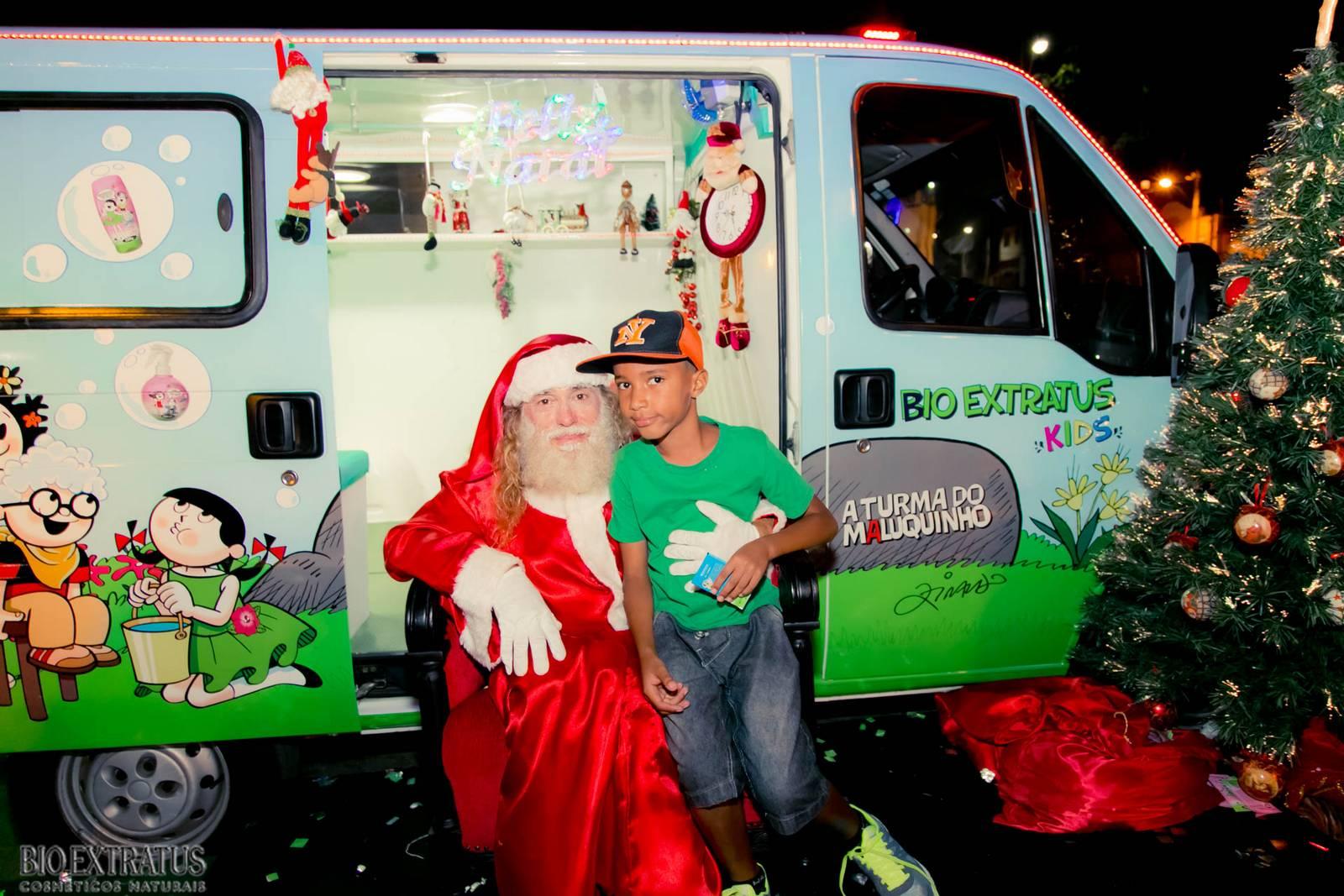 Papai Noel na Praça São Sebastião - 2015 - Alvinópolis (210)
