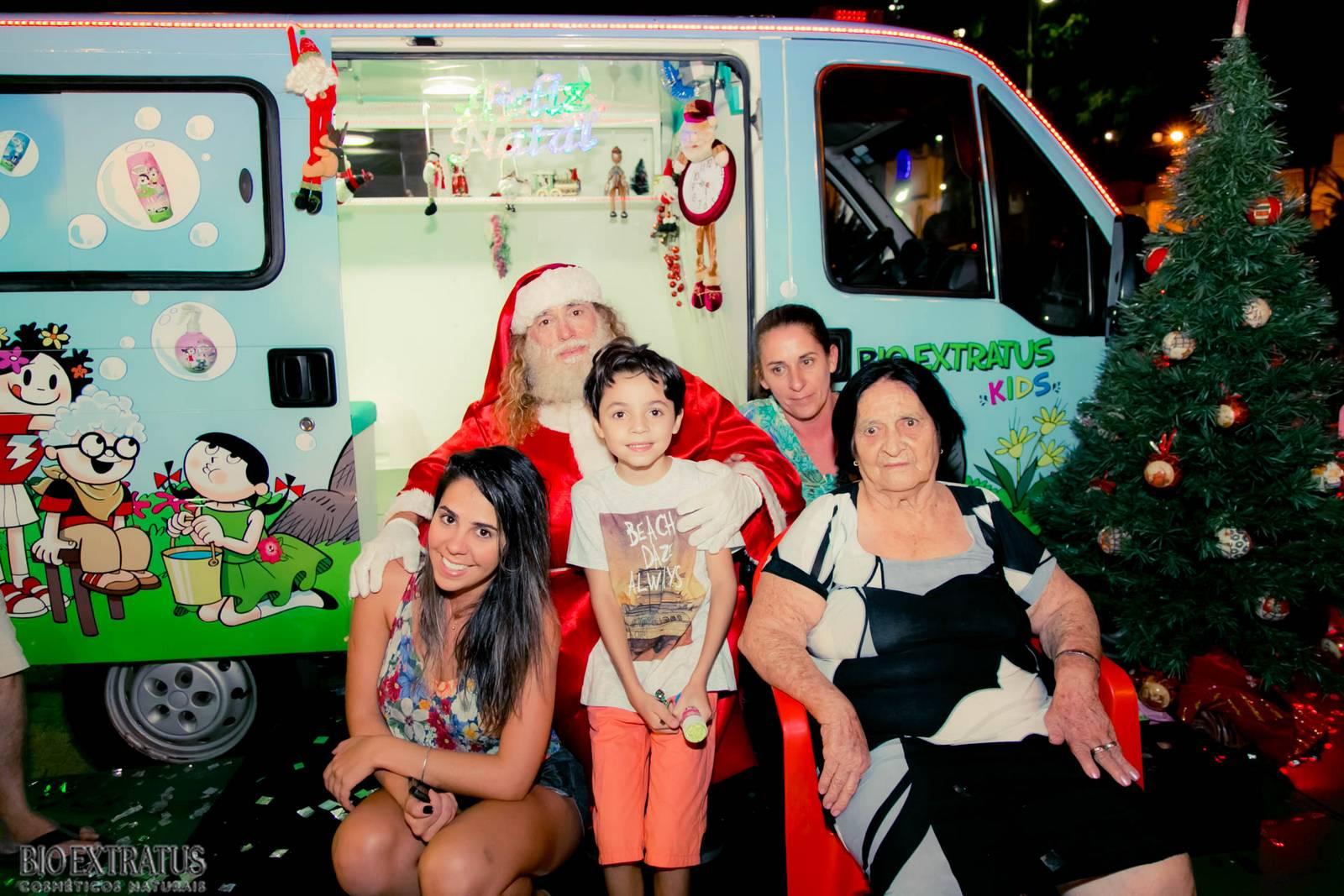 Papai Noel na Praça São Sebastião - 2015 - Alvinópolis (214)