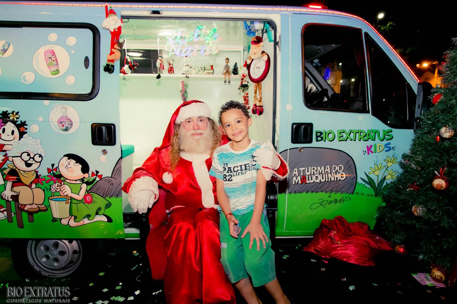 Papai Noel na Praça São Sebastião - 2015 - Alvinópolis (215)