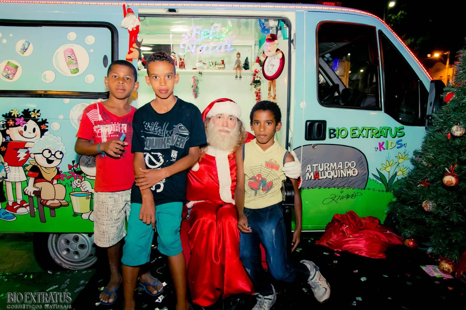 Papai Noel na Praça São Sebastião - 2015 - Alvinópolis (216)