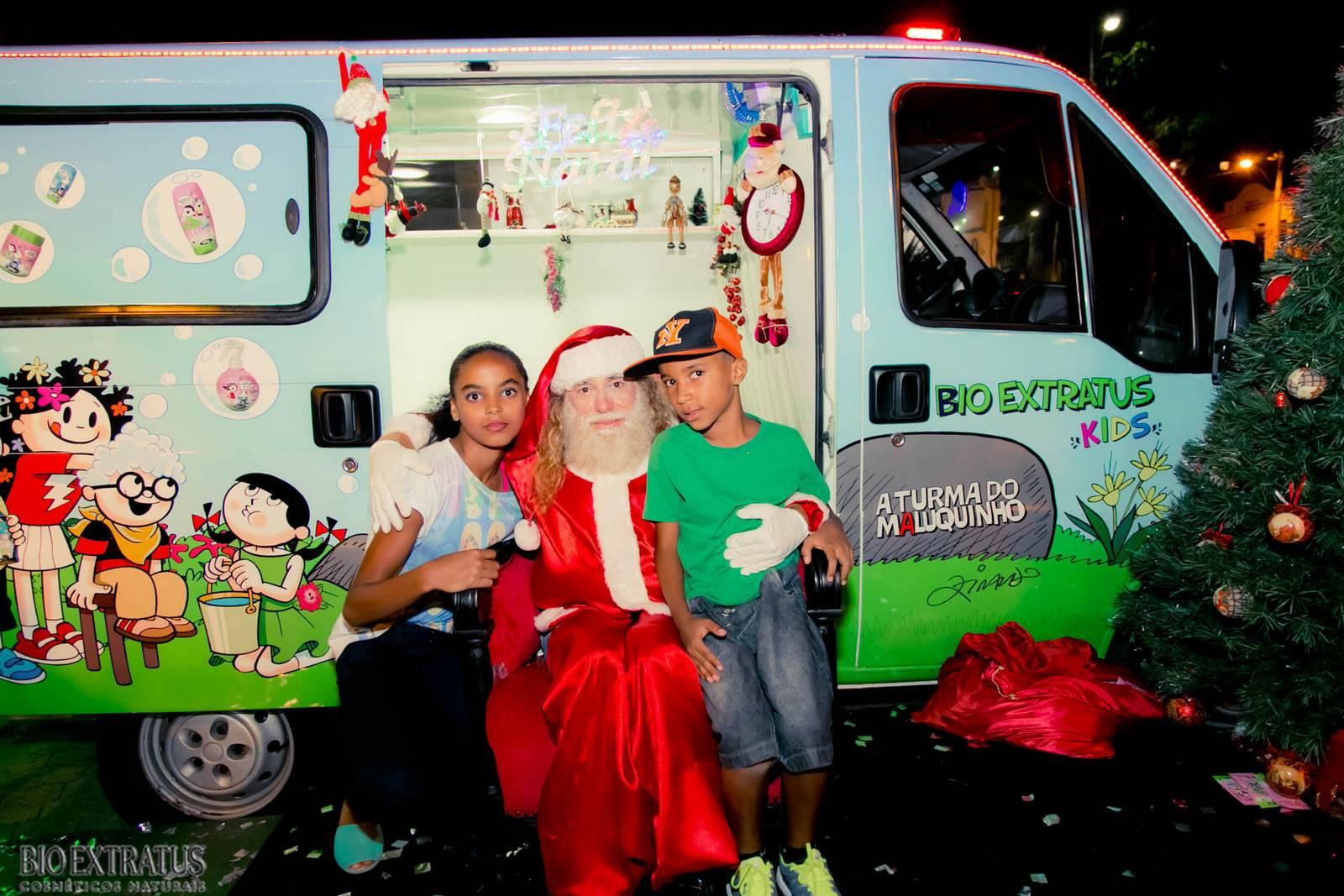 Papai Noel na Praça São Sebastião - 2015 - Alvinópolis (219)