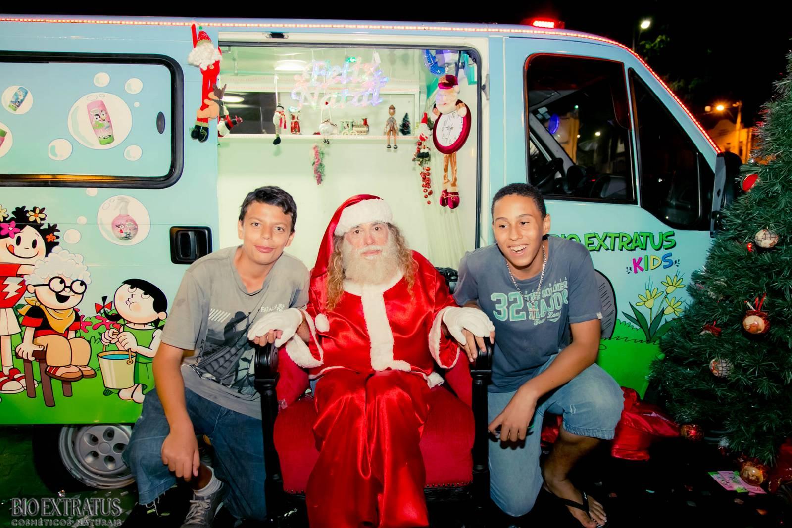 Papai Noel na Praça São Sebastião - 2015 - Alvinópolis (220)