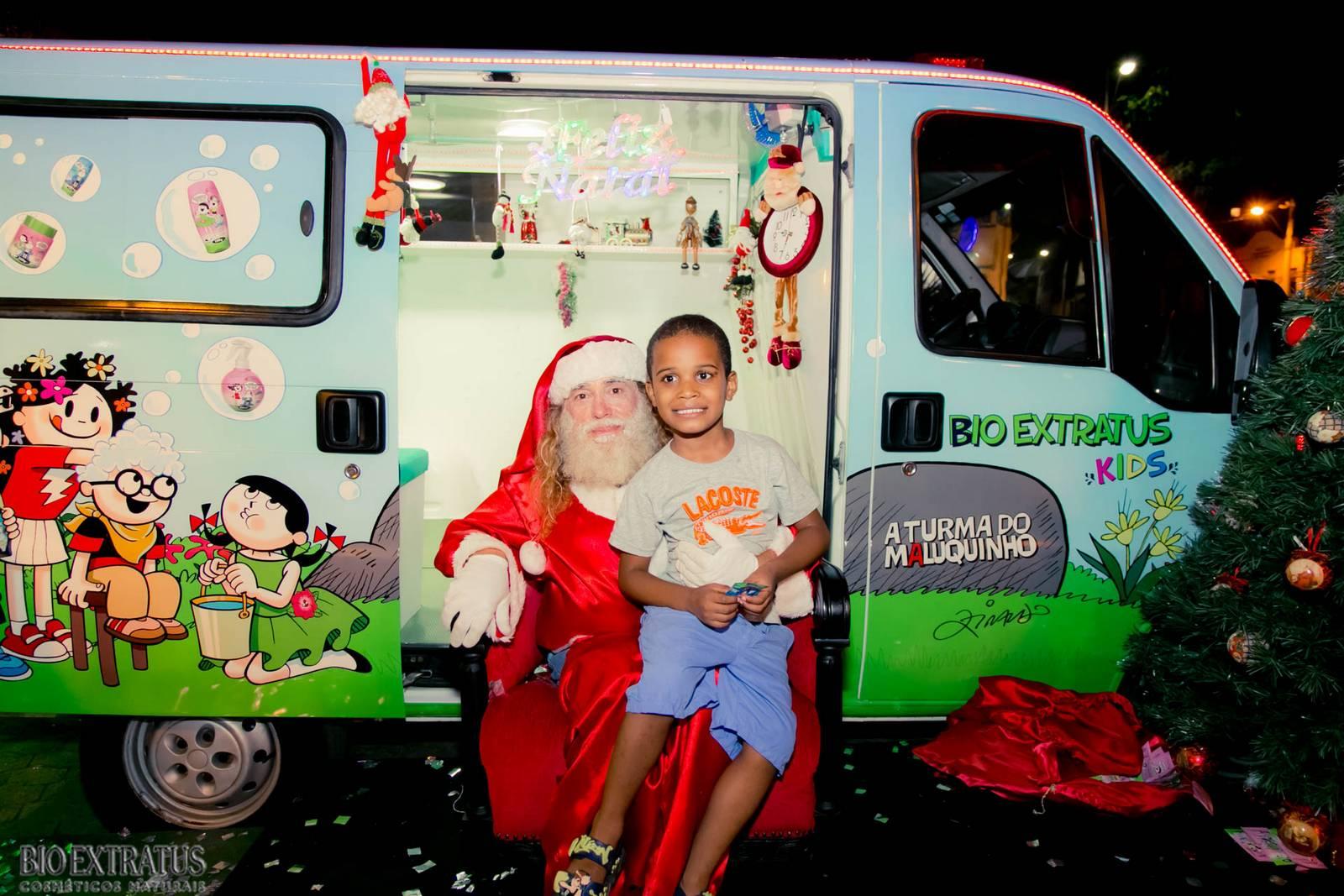 Papai Noel na Praça São Sebastião - 2015 - Alvinópolis (221)