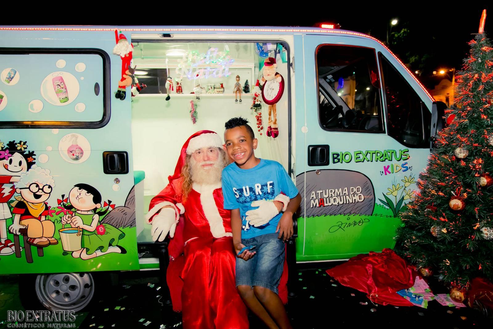 Papai Noel na Praça São Sebastião - 2015 - Alvinópolis (224)