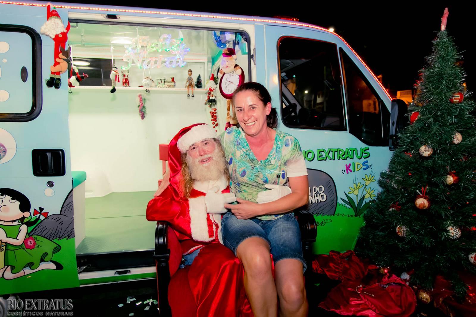 Papai Noel na Praça São Sebastião - 2015 - Alvinópolis (229)