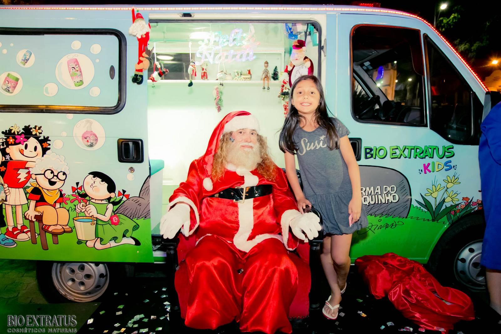 Papai Noel na Praça São Sebastião - 2015 - Alvinópolis (23)