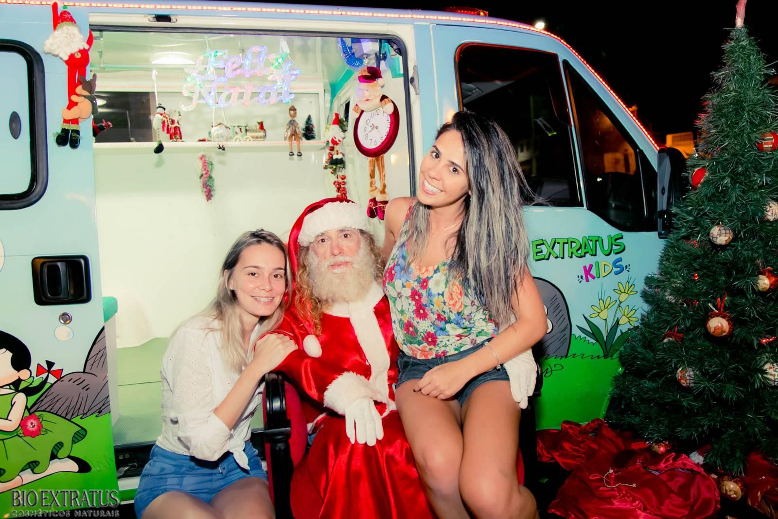 Papai Noel na Praça São Sebastião - 2015 - Alvinópolis (232)