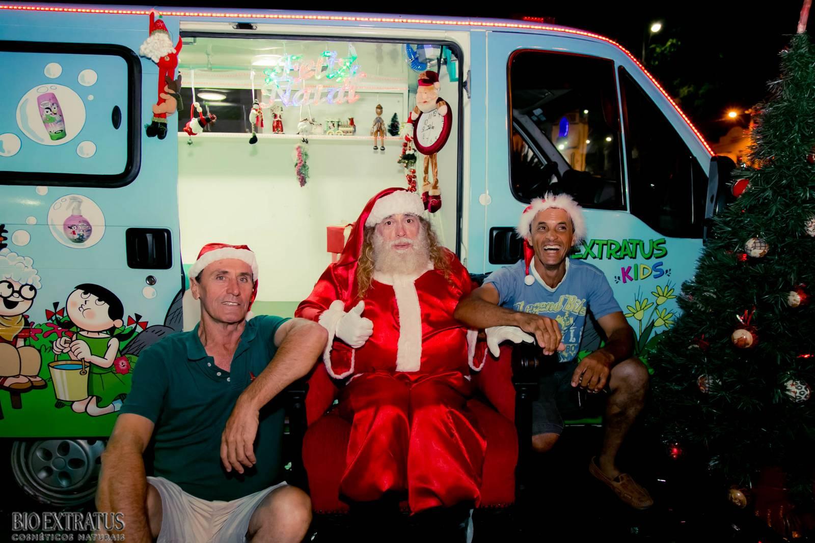 Papai Noel na Praça São Sebastião - 2015 - Alvinópolis (235)