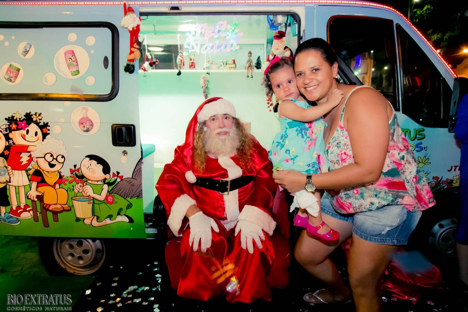 Papai Noel na Praça São Sebastião - 2015 - Alvinópolis (24)