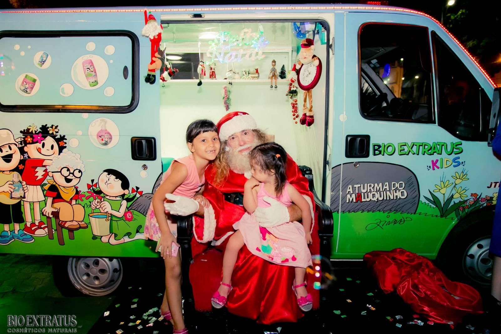 Papai Noel na Praça São Sebastião - 2015 - Alvinópolis (25)