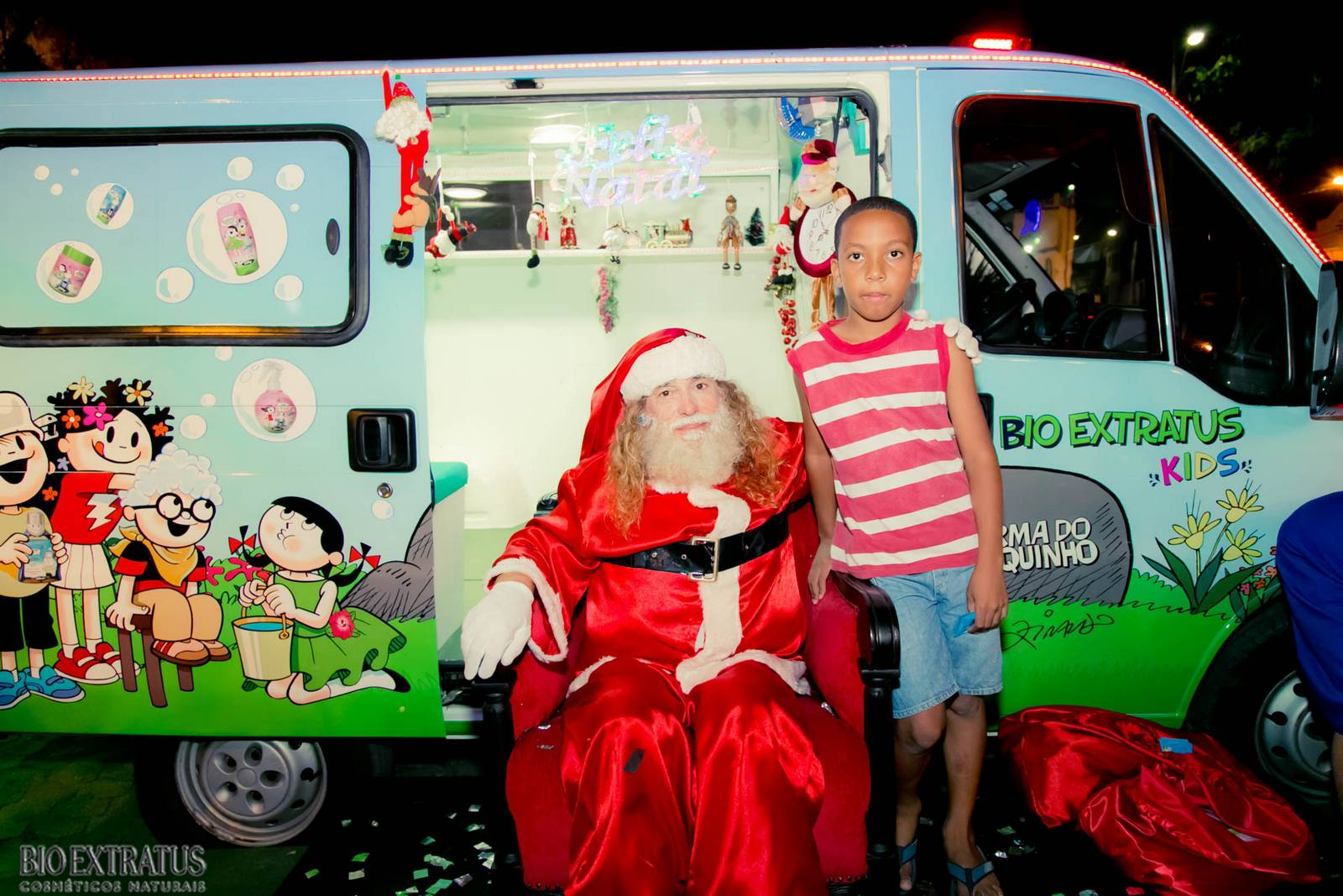 Papai Noel na Praça São Sebastião - 2015 - Alvinópolis (26)