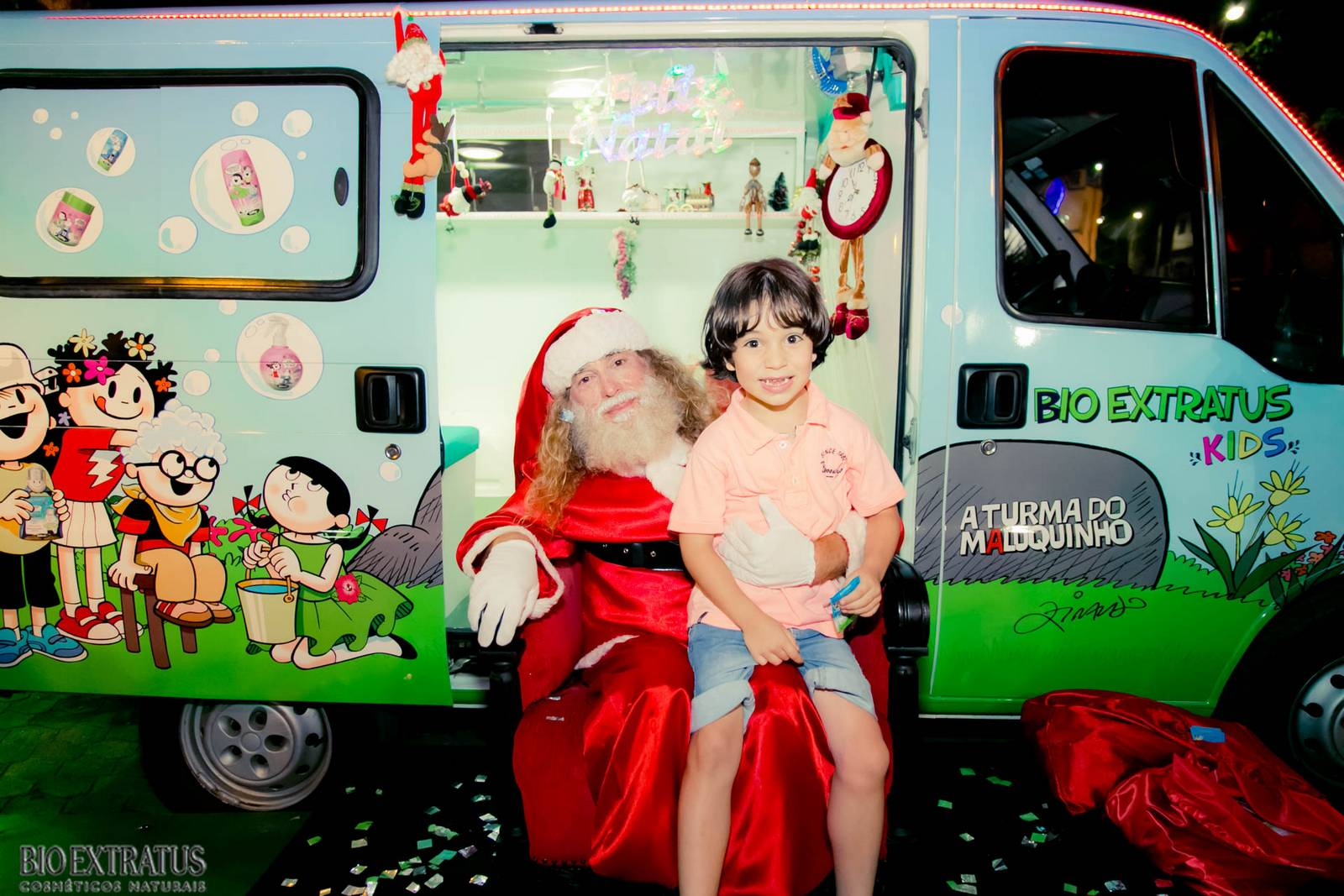 Papai Noel na Praça São Sebastião - 2015 - Alvinópolis (27)