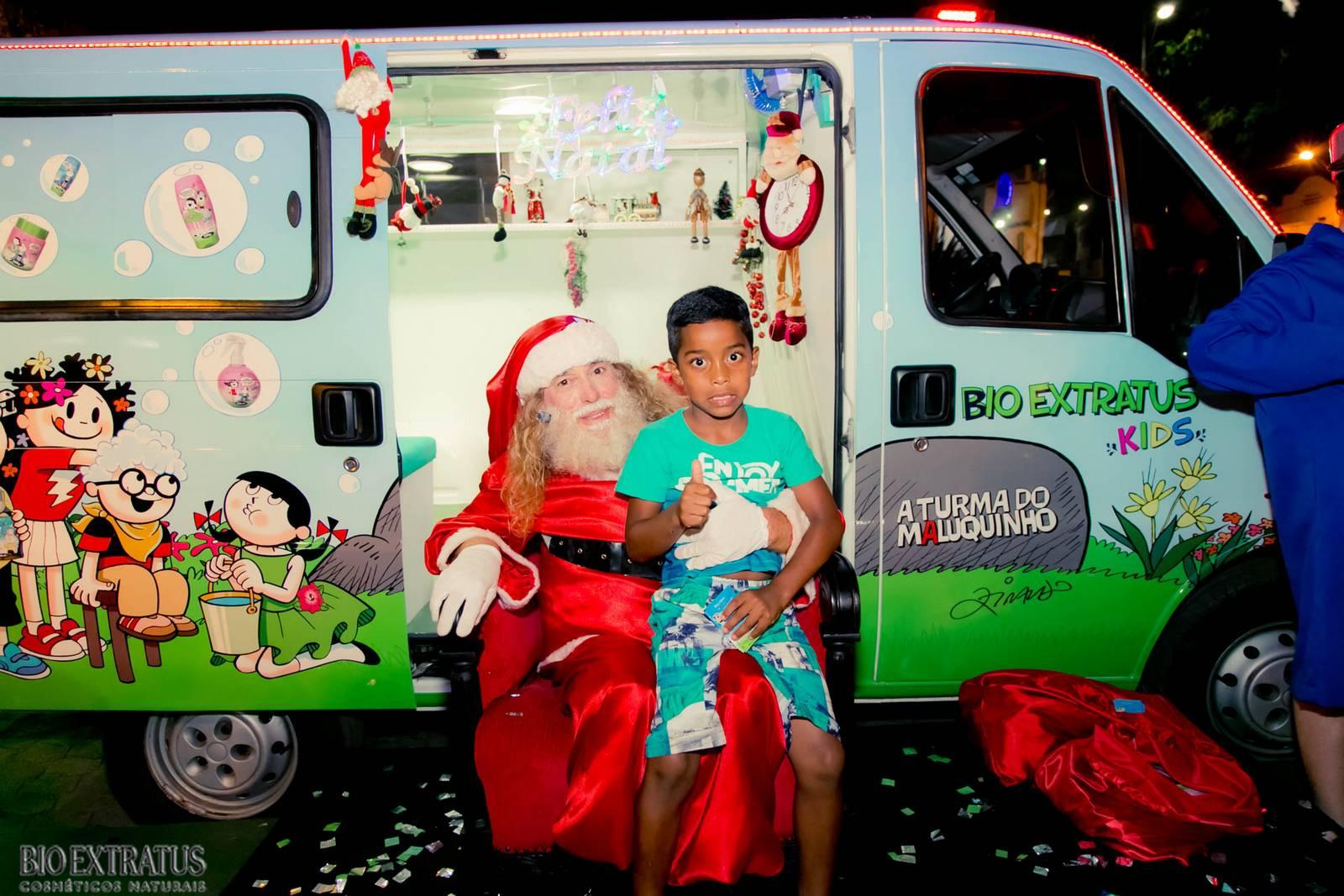 Papai Noel na Praça São Sebastião - 2015 - Alvinópolis (28)