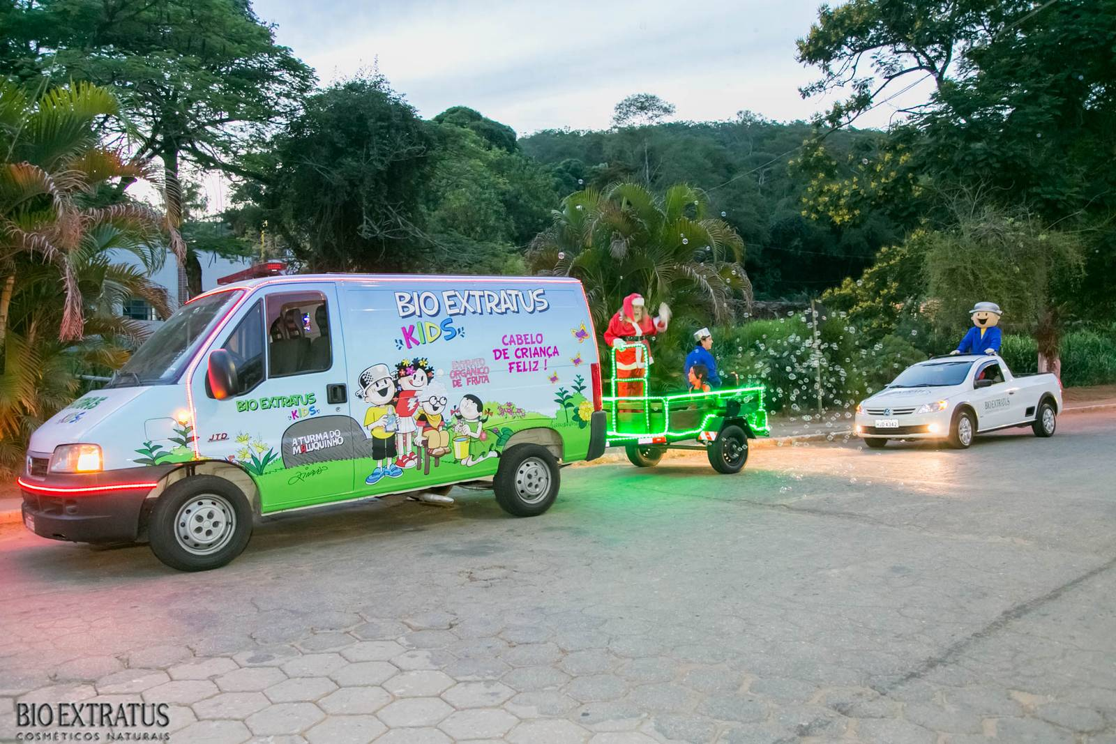 Papai Noel na Praça São Sebastião - 2015 - Alvinópolis (3)