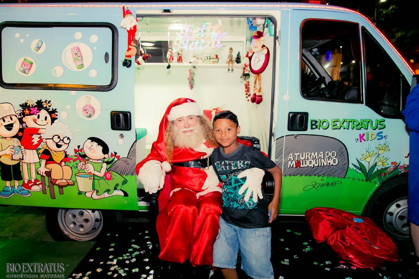 Papai Noel na Praça São Sebastião - 2015 - Alvinópolis (30)