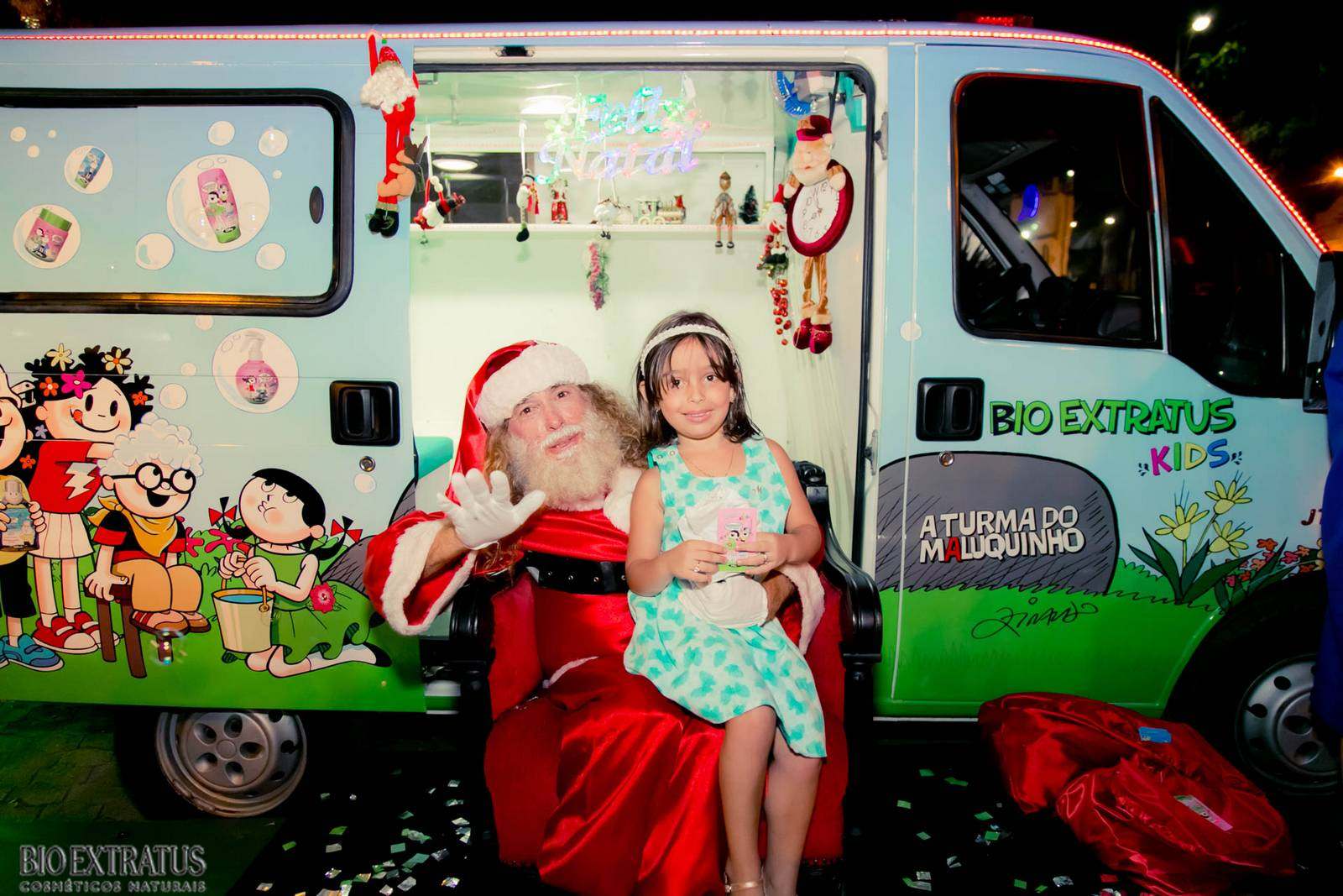Papai Noel na Praça São Sebastião - 2015 - Alvinópolis (31)