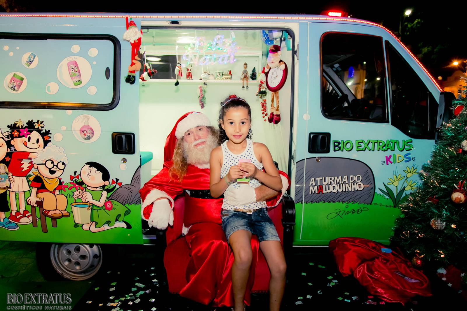 Papai Noel na Praça São Sebastião - 2015 - Alvinópolis (36)