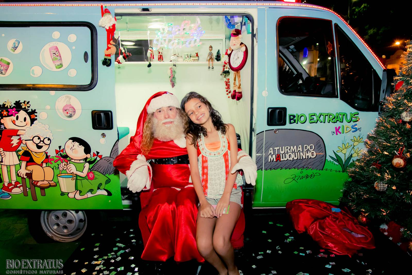 Papai Noel na Praça São Sebastião - 2015 - Alvinópolis (37)
