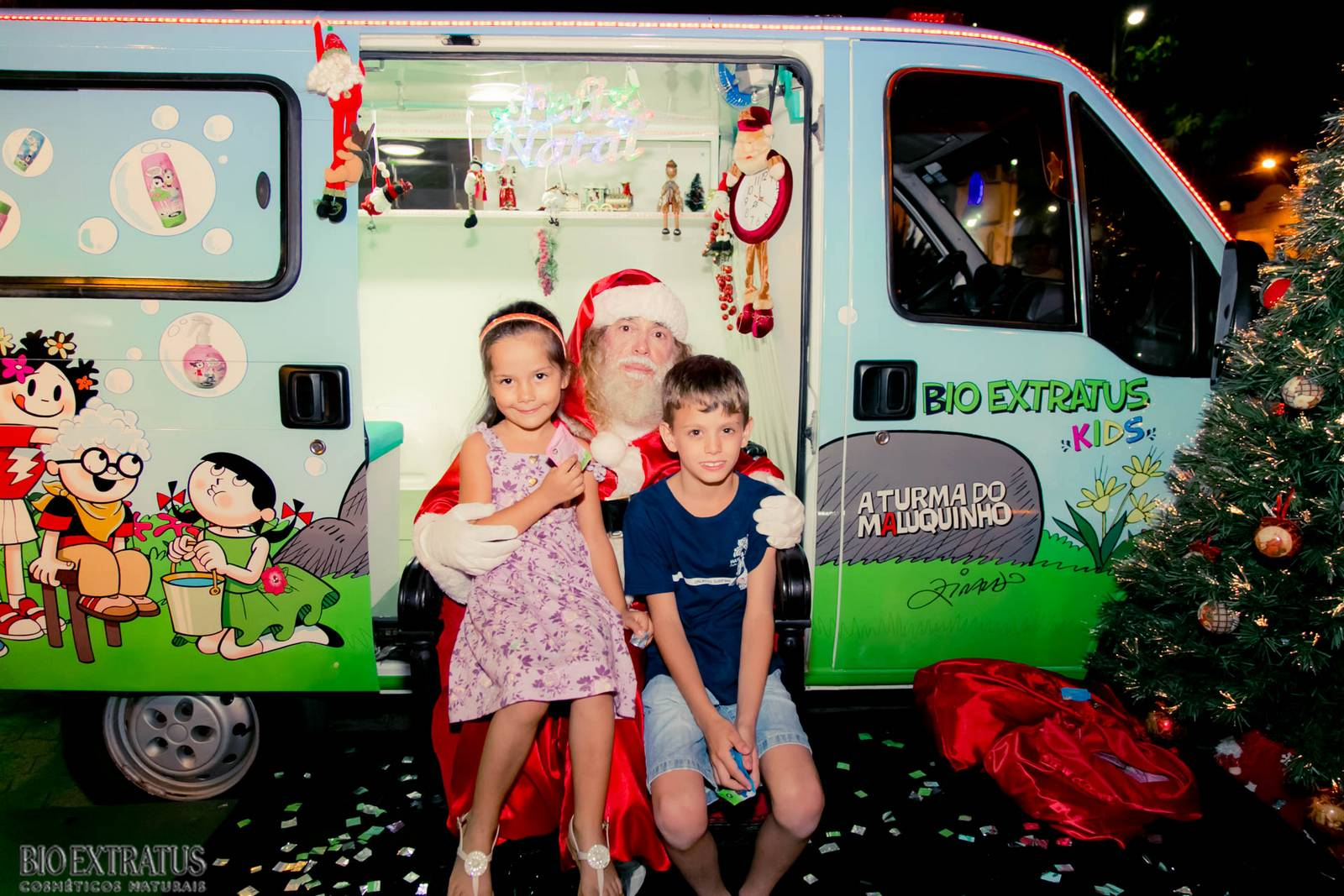 Papai Noel na Praça São Sebastião - 2015 - Alvinópolis (38)
