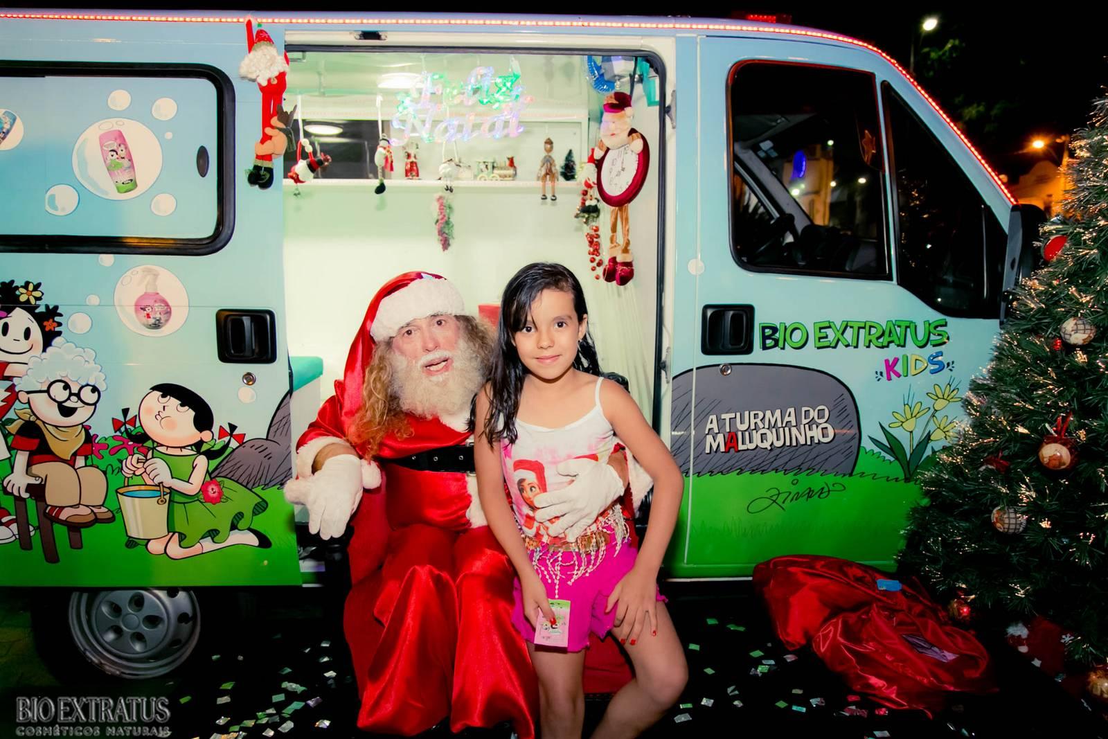 Papai Noel na Praça São Sebastião - 2015 - Alvinópolis (40)