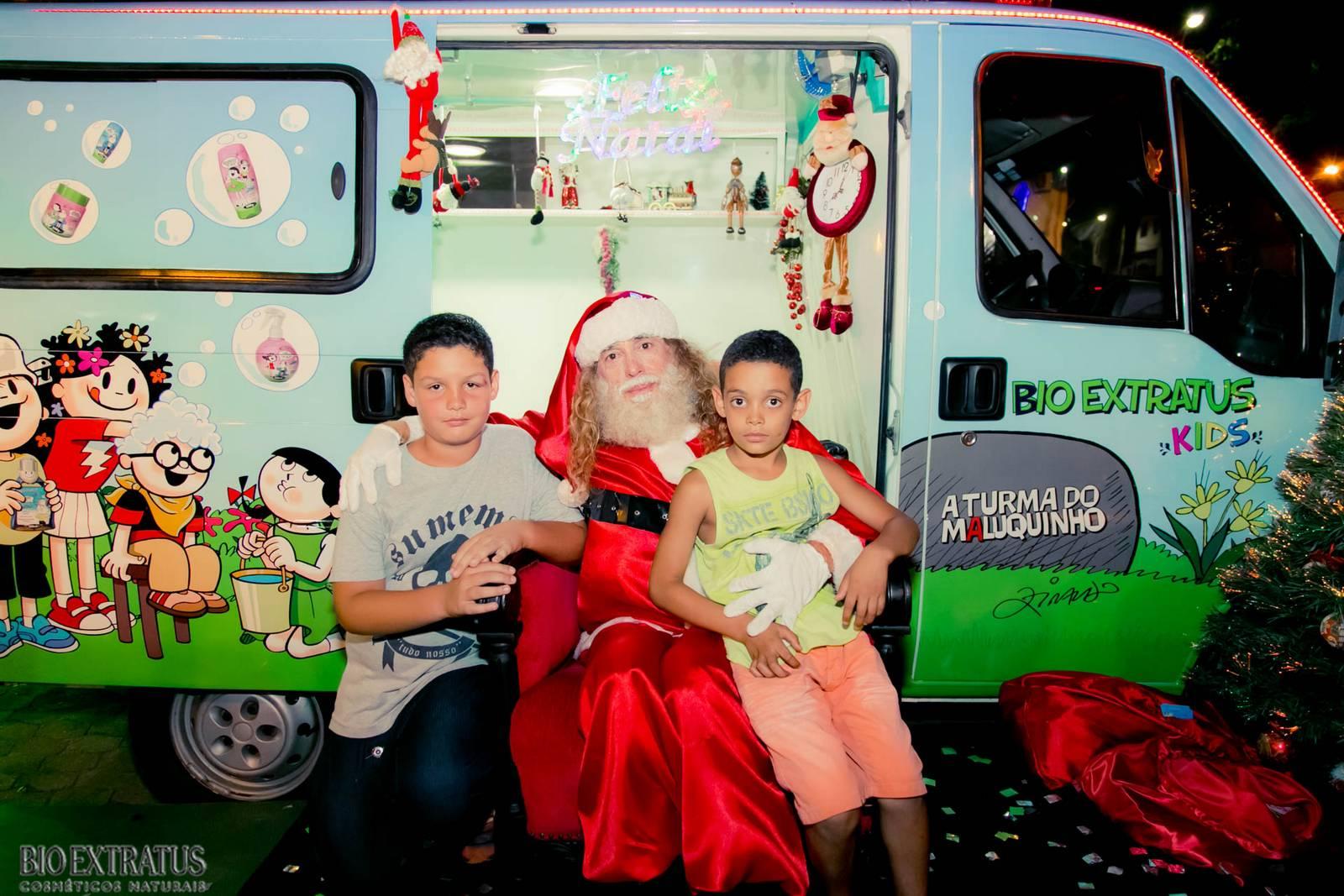 Papai Noel na Praça São Sebastião - 2015 - Alvinópolis (44)