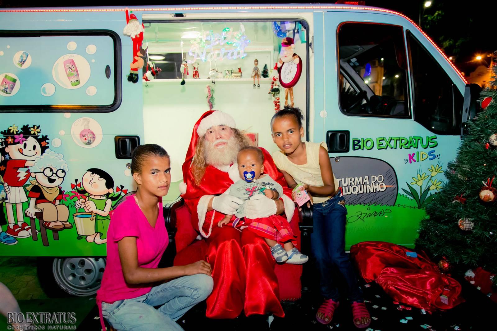 Papai Noel na Praça São Sebastião - 2015 - Alvinópolis (47)