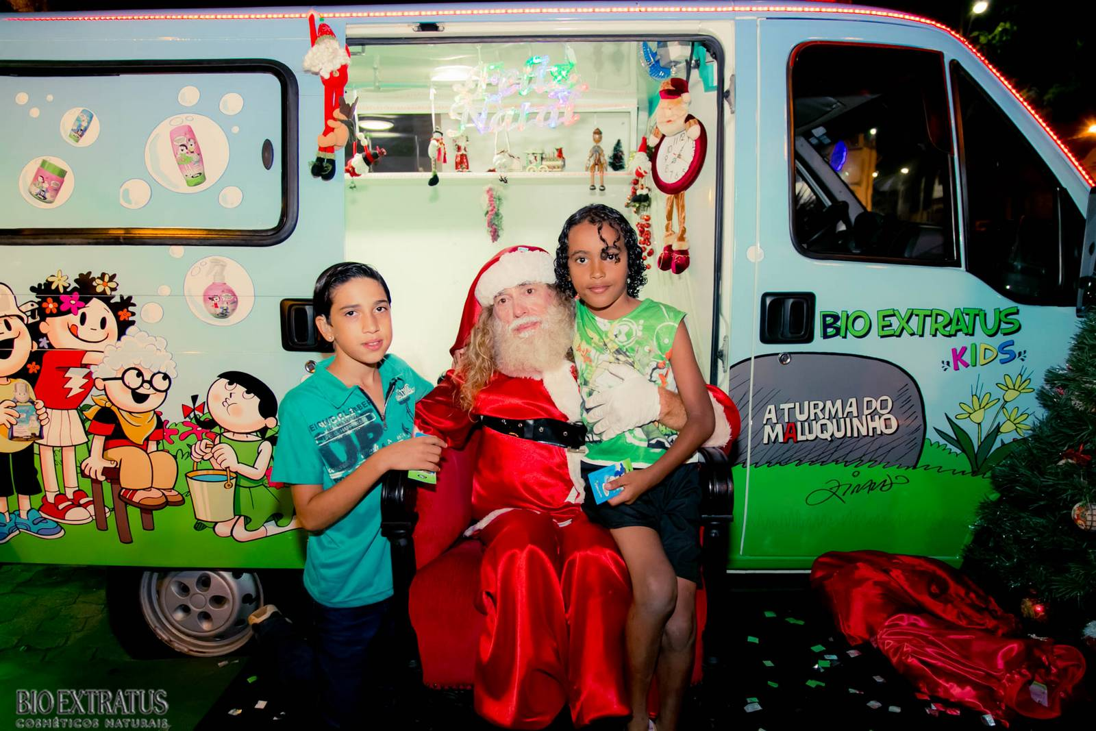Papai Noel na Praça São Sebastião - 2015 - Alvinópolis (50)