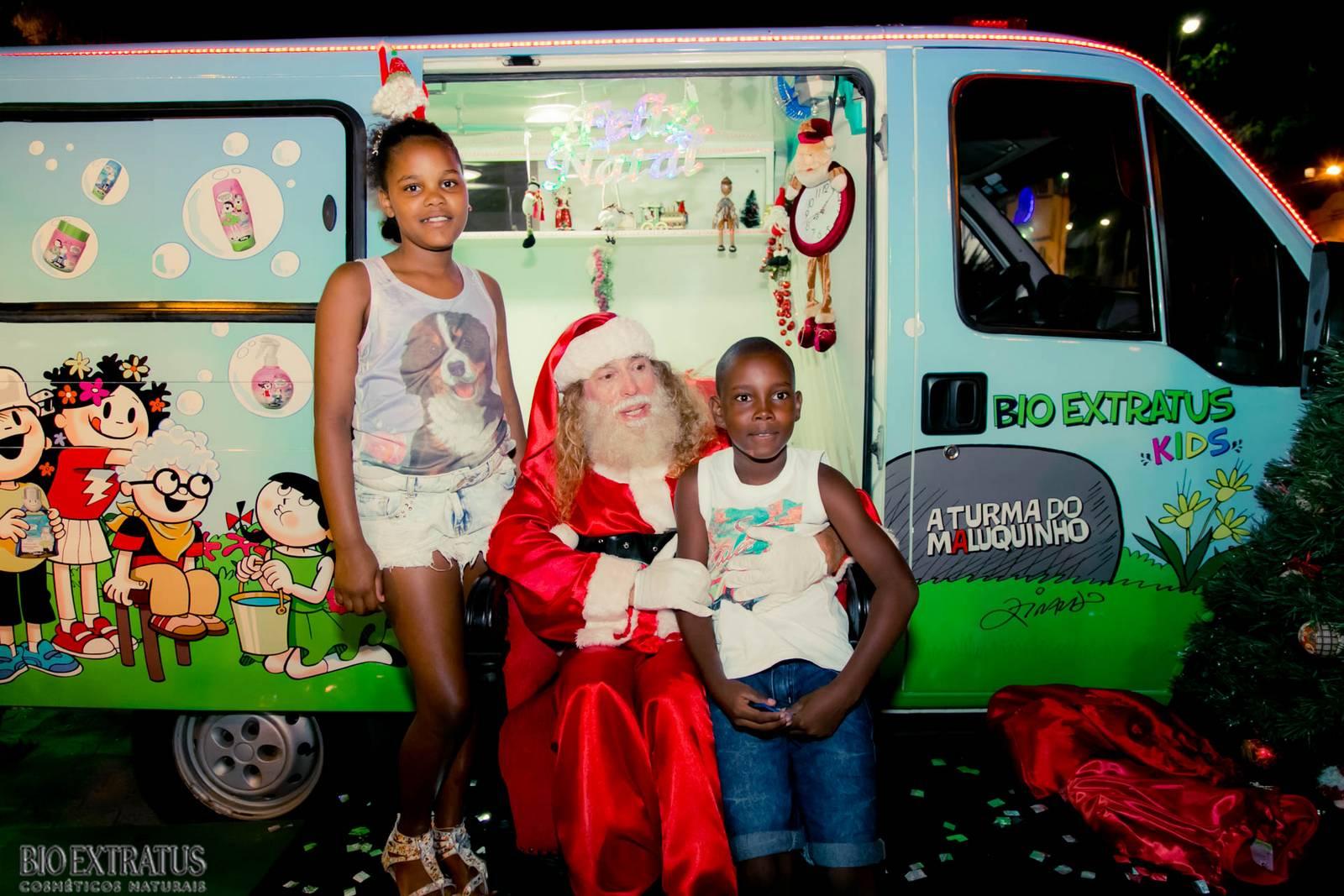 Papai Noel na Praça São Sebastião - 2015 - Alvinópolis (52)