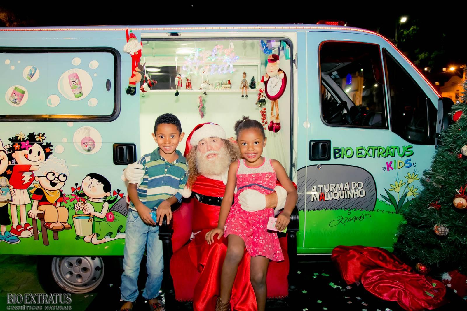 Papai Noel na Praça São Sebastião - 2015 - Alvinópolis (54)
