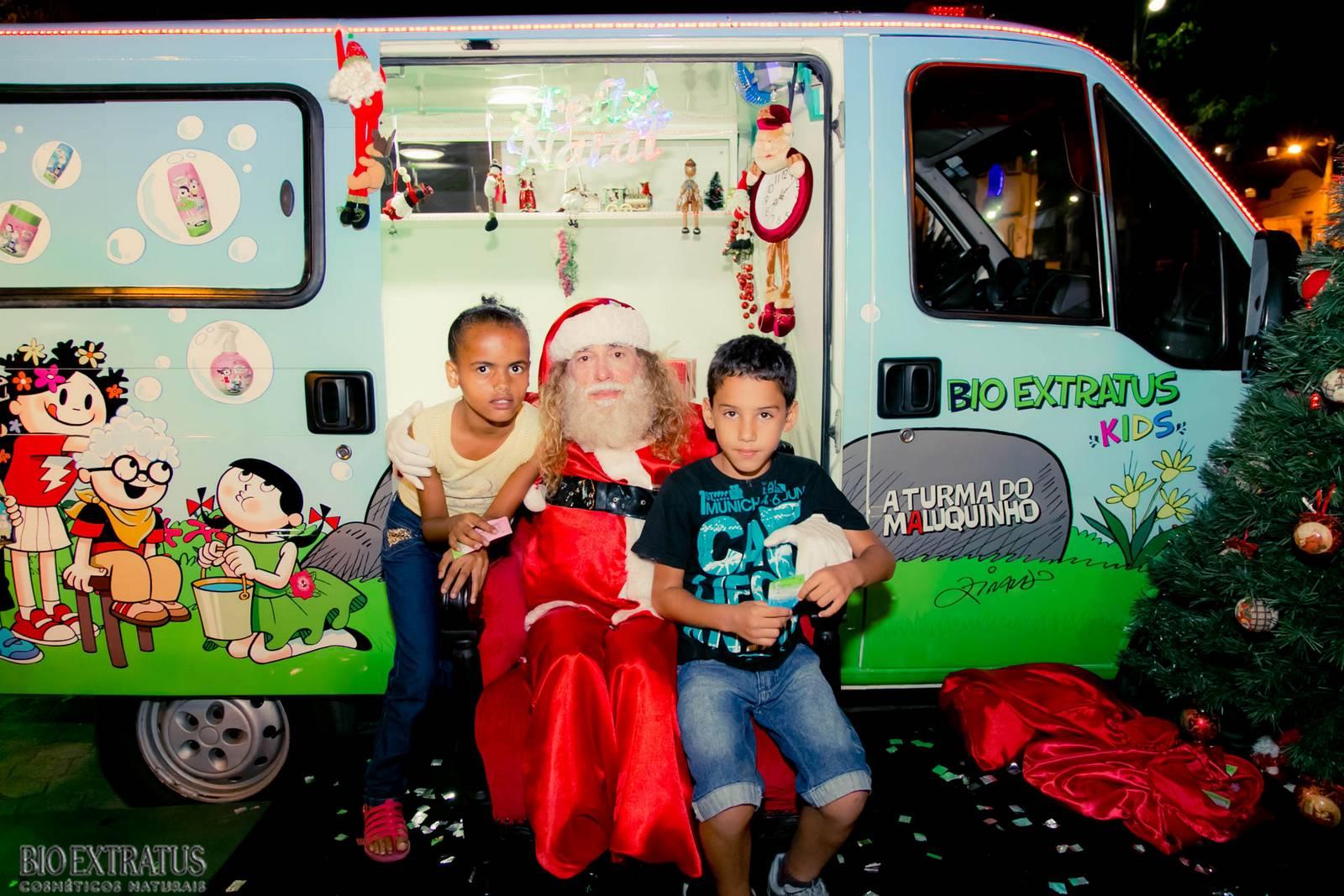 Papai Noel na Praça São Sebastião - 2015 - Alvinópolis (56)