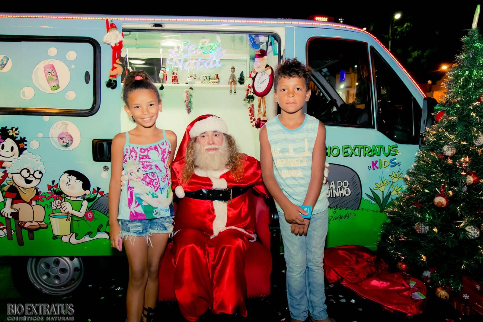 Papai Noel na Praça São Sebastião - 2015 - Alvinópolis (60)