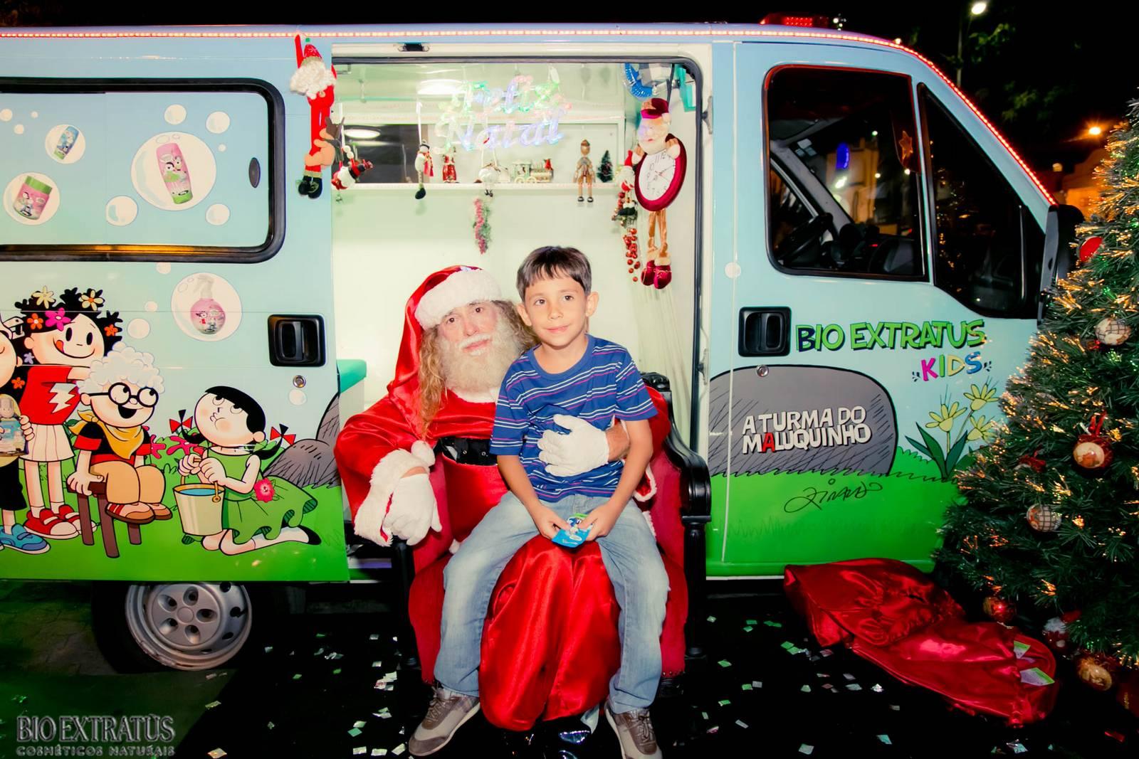 Papai Noel na Praça São Sebastião - 2015 - Alvinópolis (61)