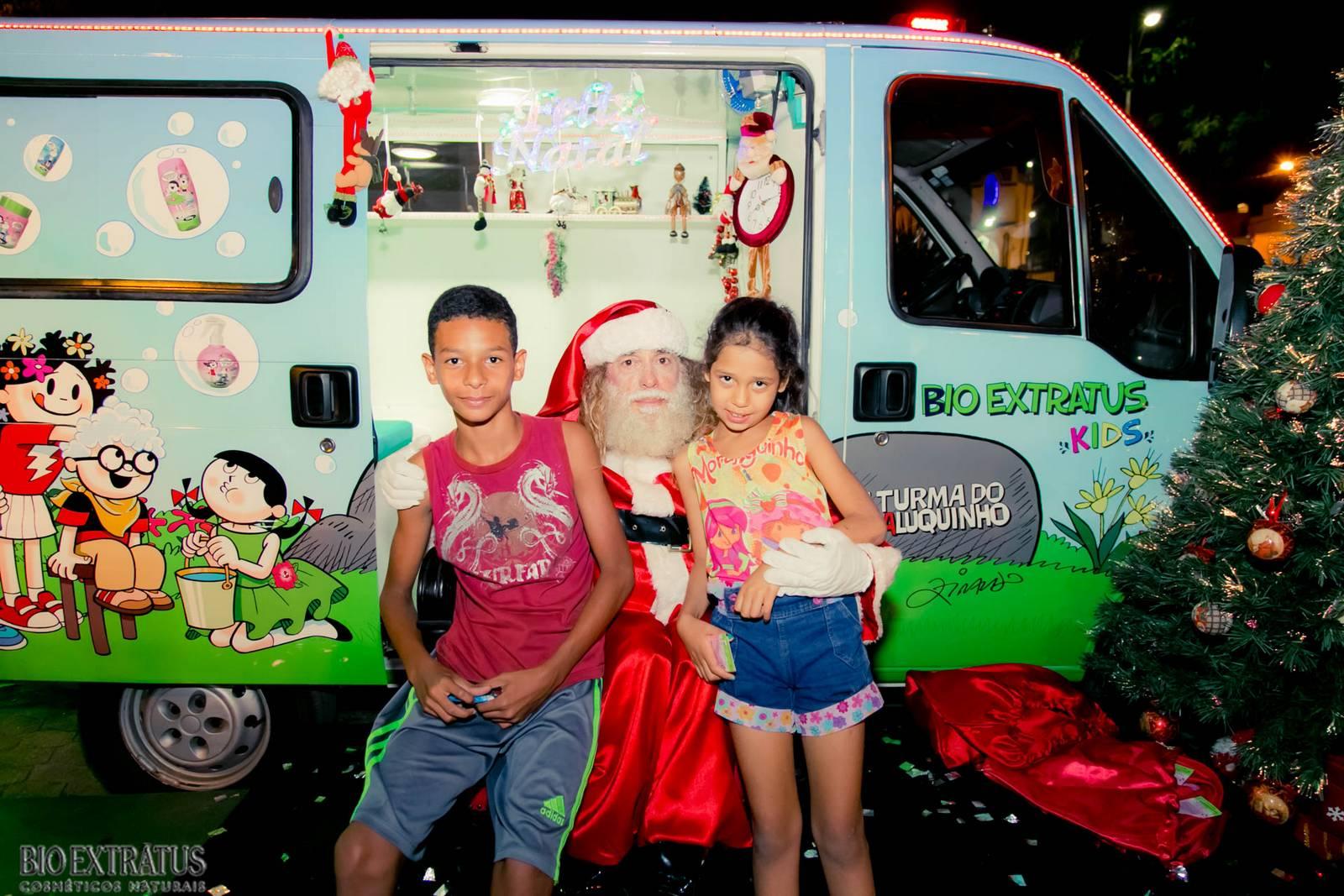 Papai Noel na Praça São Sebastião - 2015 - Alvinópolis (63)