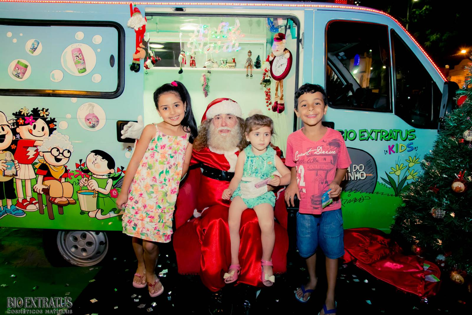 Papai Noel na Praça São Sebastião - 2015 - Alvinópolis (64)