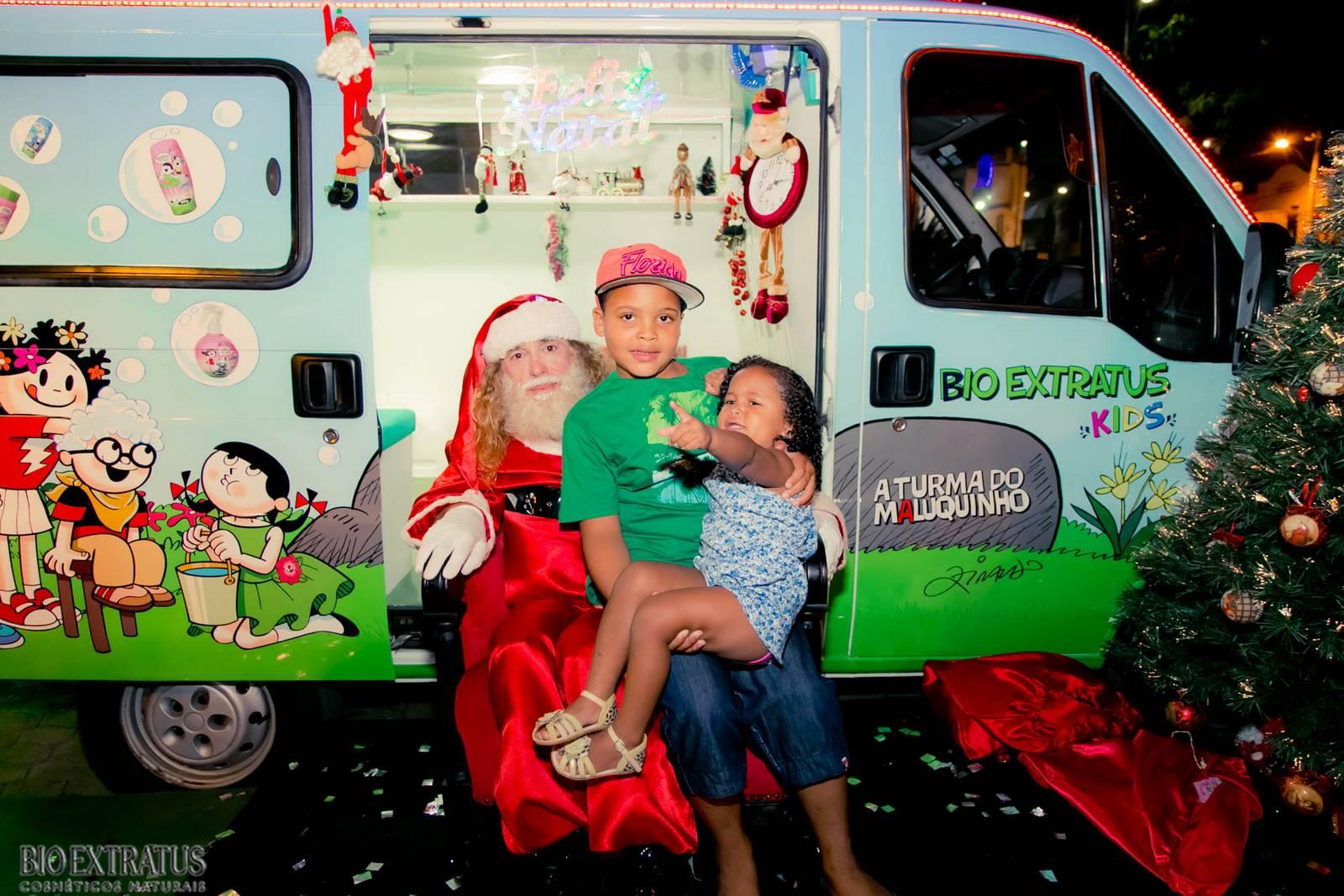 Papai Noel na Praça São Sebastião - 2015 - Alvinópolis (66)