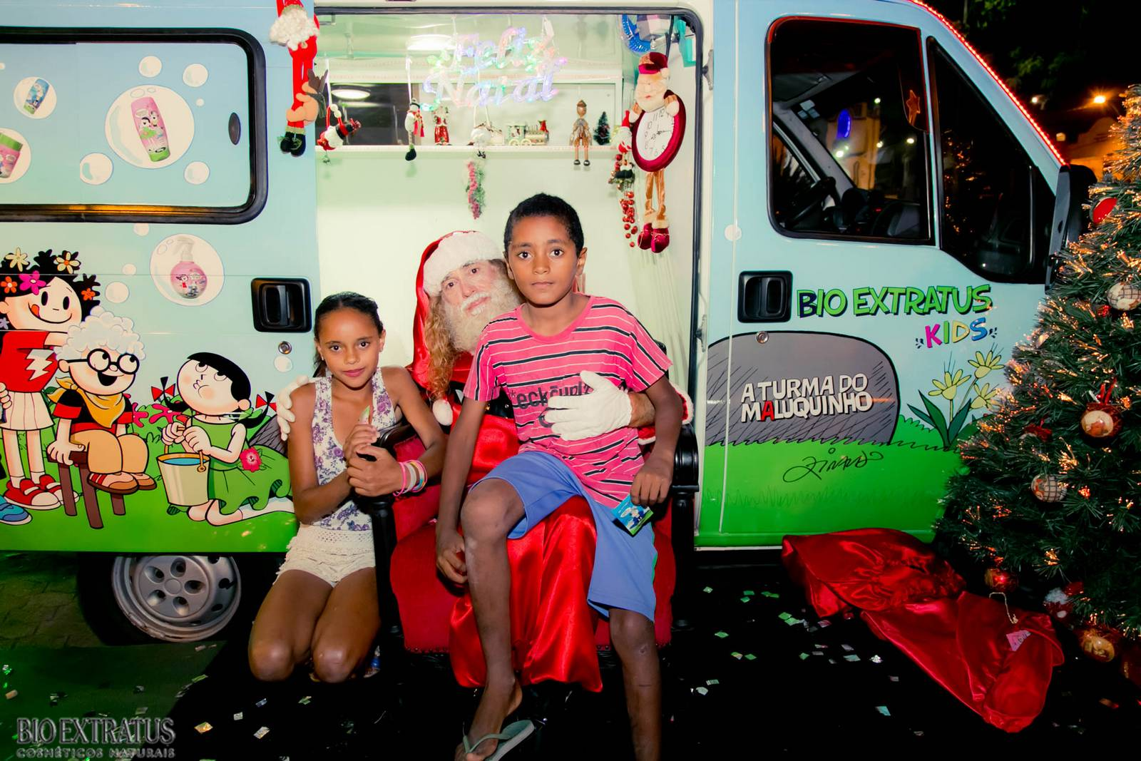 Papai Noel na Praça São Sebastião - 2015 - Alvinópolis (67)