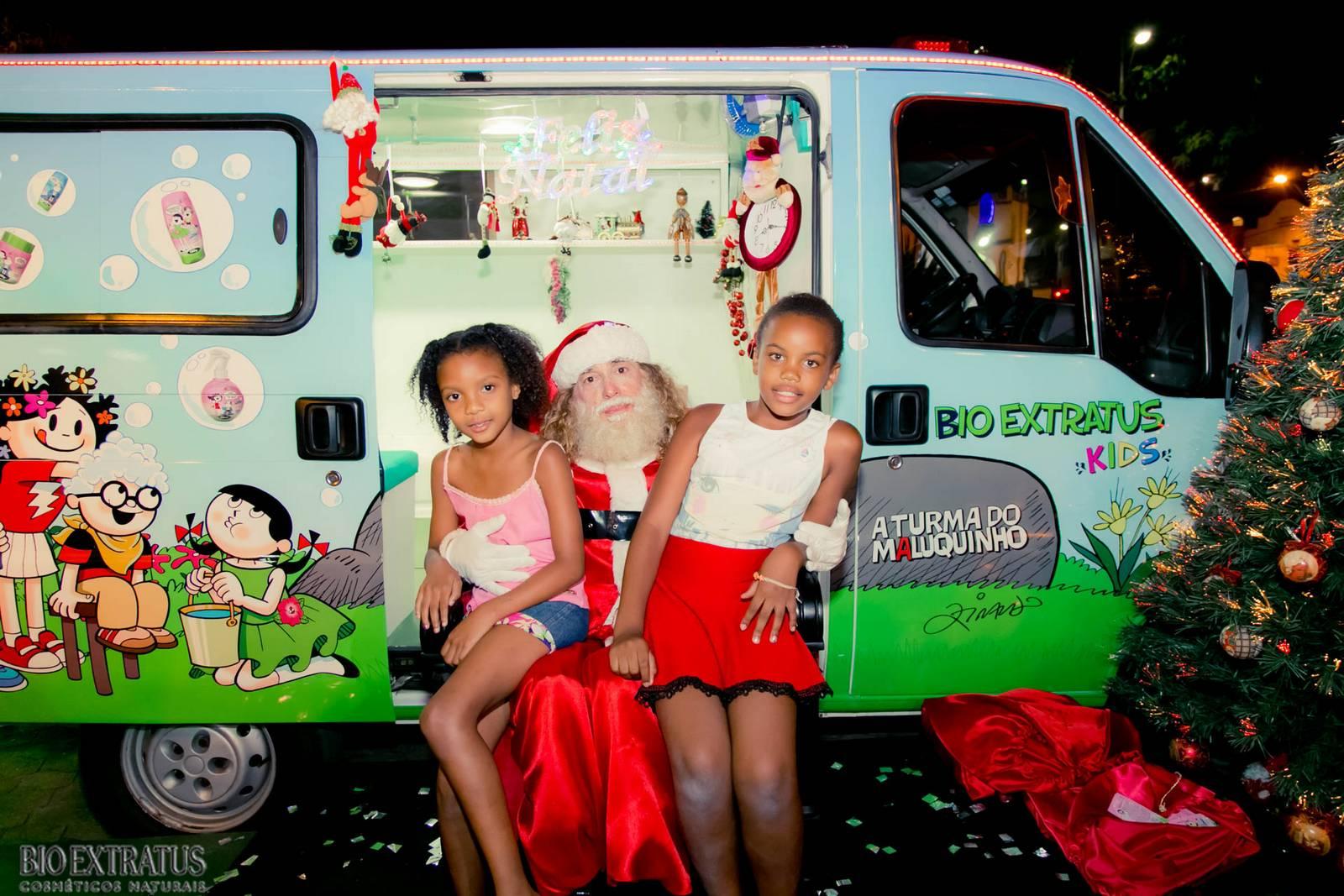 Papai Noel na Praça São Sebastião - 2015 - Alvinópolis (69)