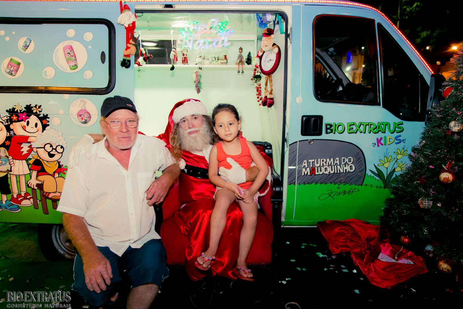 Papai Noel na Praça São Sebastião - 2015 - Alvinópolis (70)