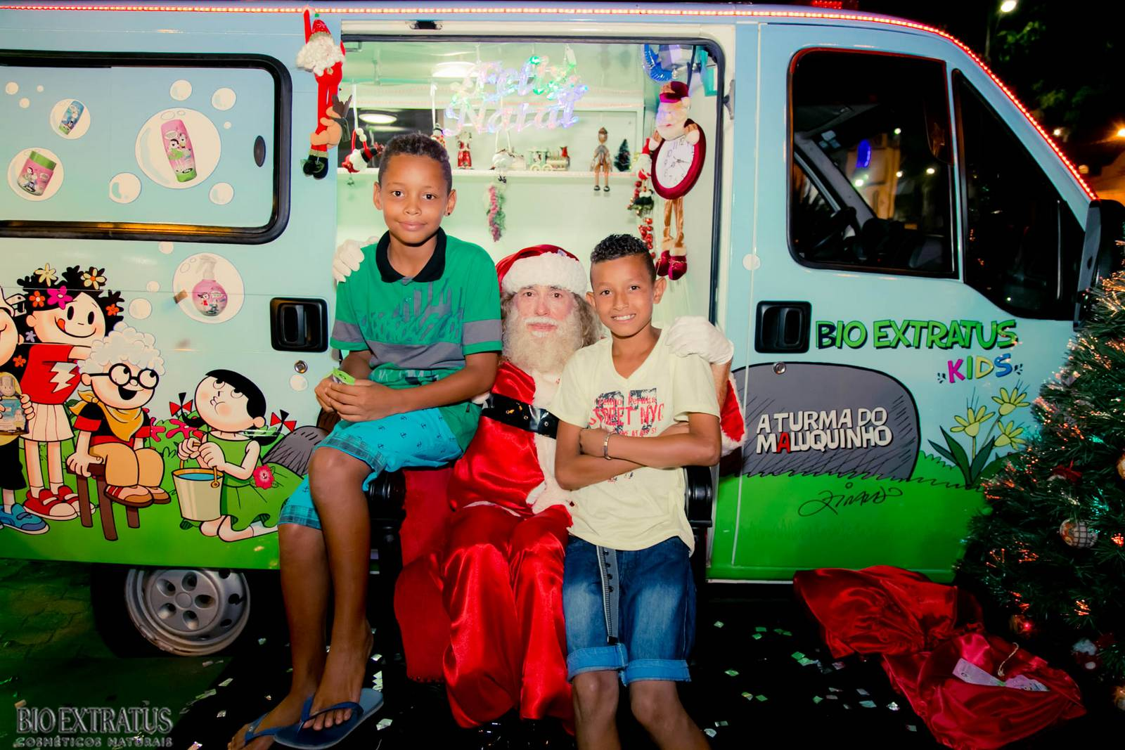 Papai Noel na Praça São Sebastião - 2015 - Alvinópolis (71)