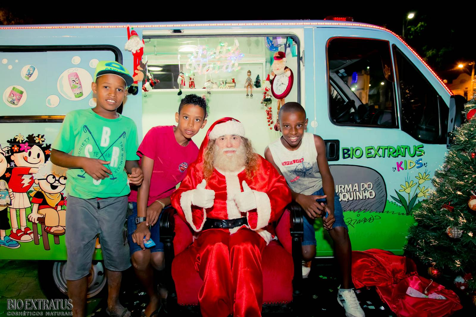 Papai Noel na Praça São Sebastião - 2015 - Alvinópolis (73)