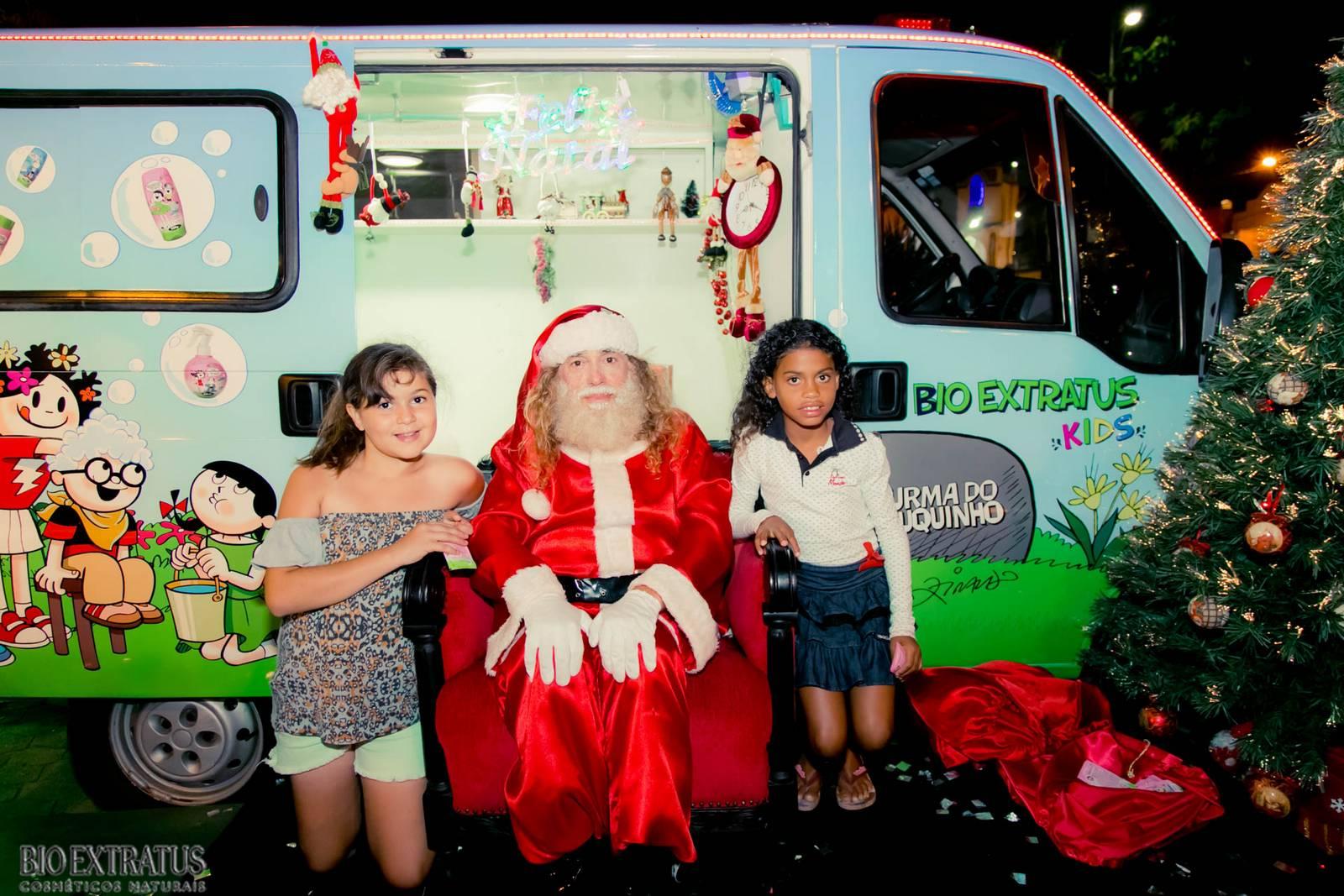 Papai Noel na Praça São Sebastião - 2015 - Alvinópolis (74)