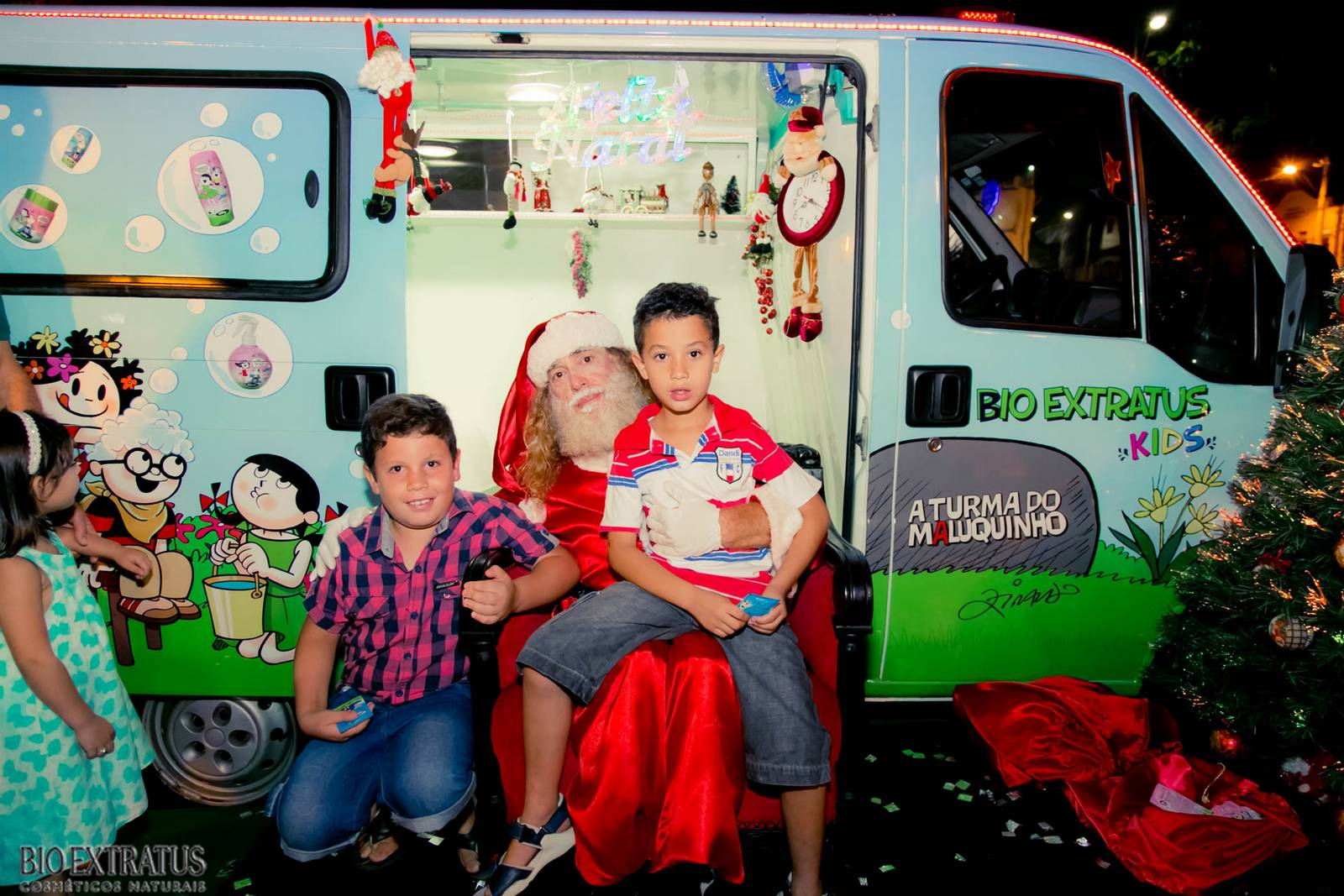 Papai Noel na Praça São Sebastião - 2015 - Alvinópolis (75)