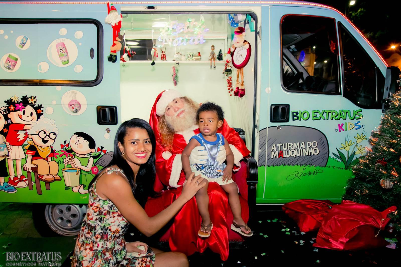 Papai Noel na Praça São Sebastião - 2015 - Alvinópolis (79)
