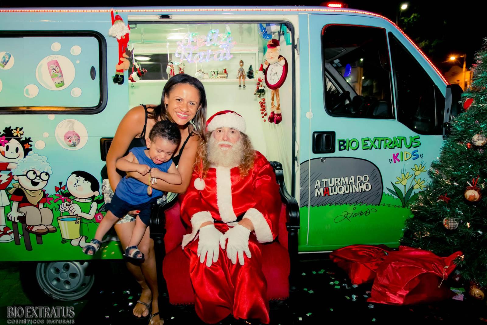 Papai Noel na Praça São Sebastião - 2015 - Alvinópolis (81)