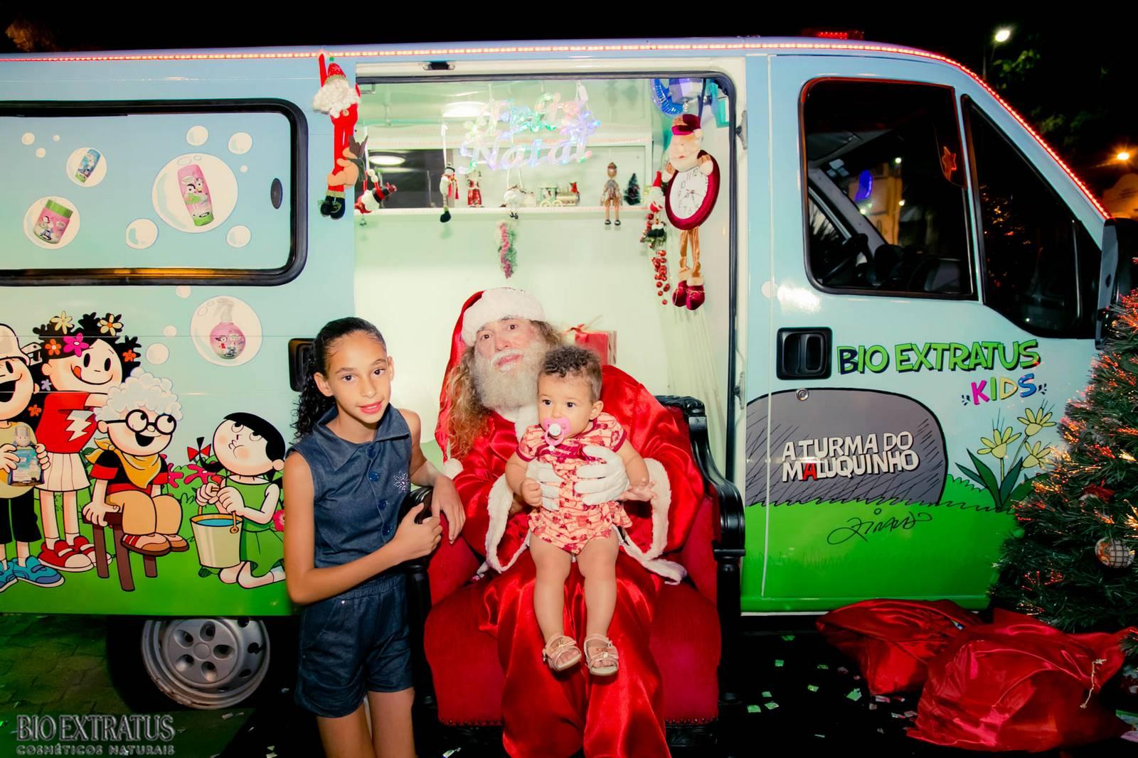 Papai Noel na Praça São Sebastião - 2015 - Alvinópolis (85)