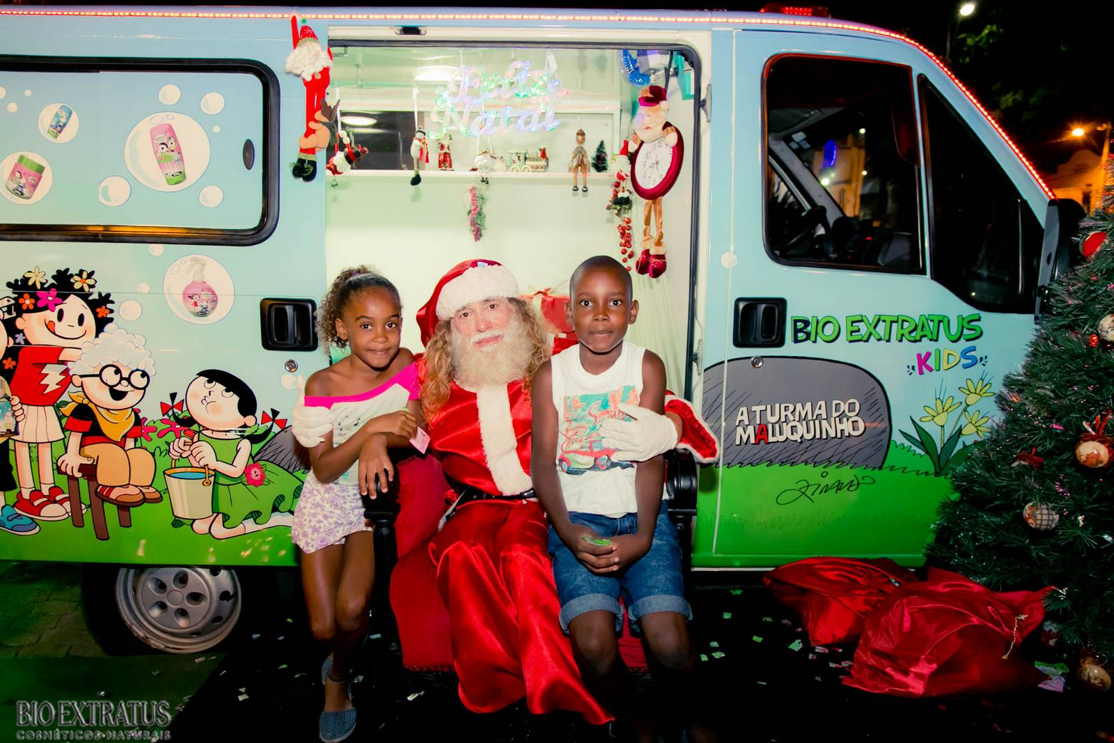 Papai Noel na Praça São Sebastião - 2015 - Alvinópolis (86)