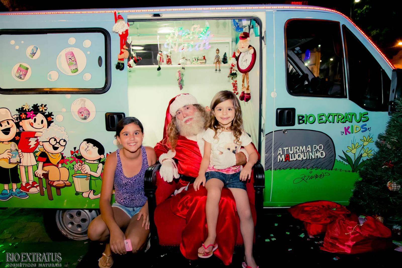 Papai Noel na Praça São Sebastião - 2015 - Alvinópolis (89)