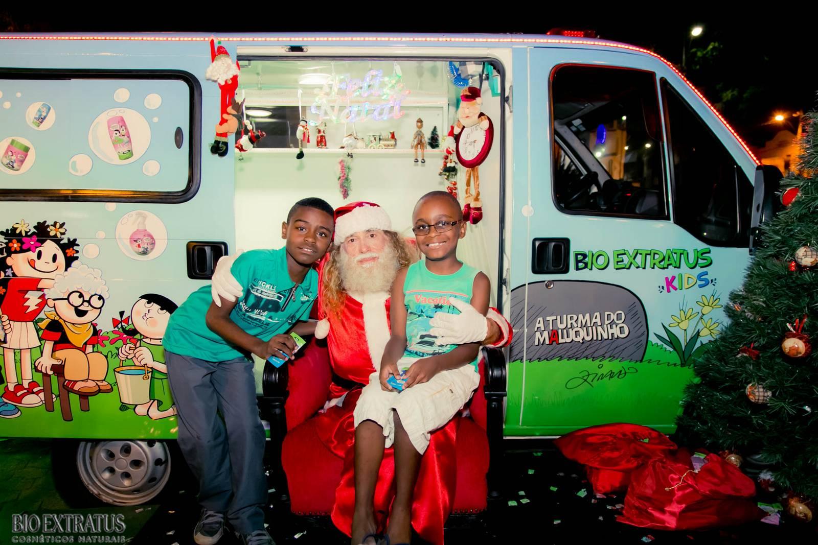 Papai Noel na Praça São Sebastião - 2015 - Alvinópolis (91)