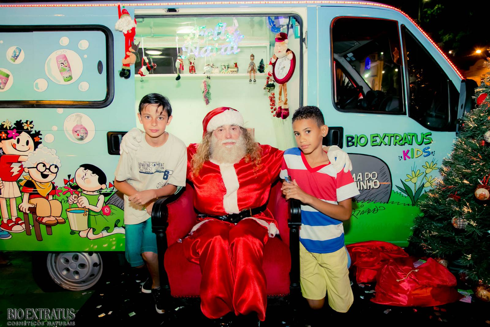 Papai Noel na Praça São Sebastião - 2015 - Alvinópolis (98)